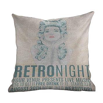 Amazon.com: Matt Flowe - Fundas de almohada personalizadas ...