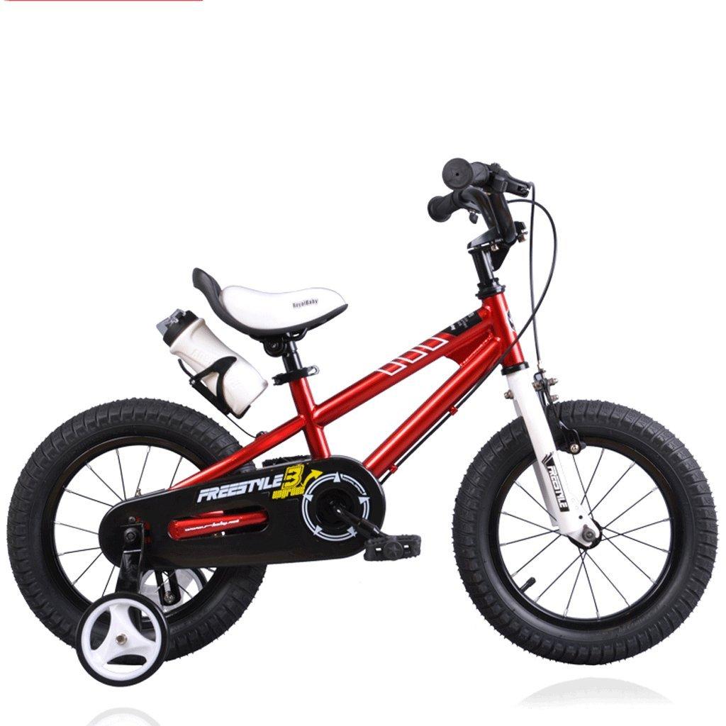 子供の自転車の男の子の女の子の自転車2歳から12歳のベビーキャリアの学生MTB (色 : 赤, サイズ さいず : 14 inches) B07D348B82 14 inches|赤 赤 14 inches