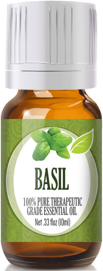 Basil Essential Oil - 100% Pure Therapeutic Grade Basil Oil - 10ml