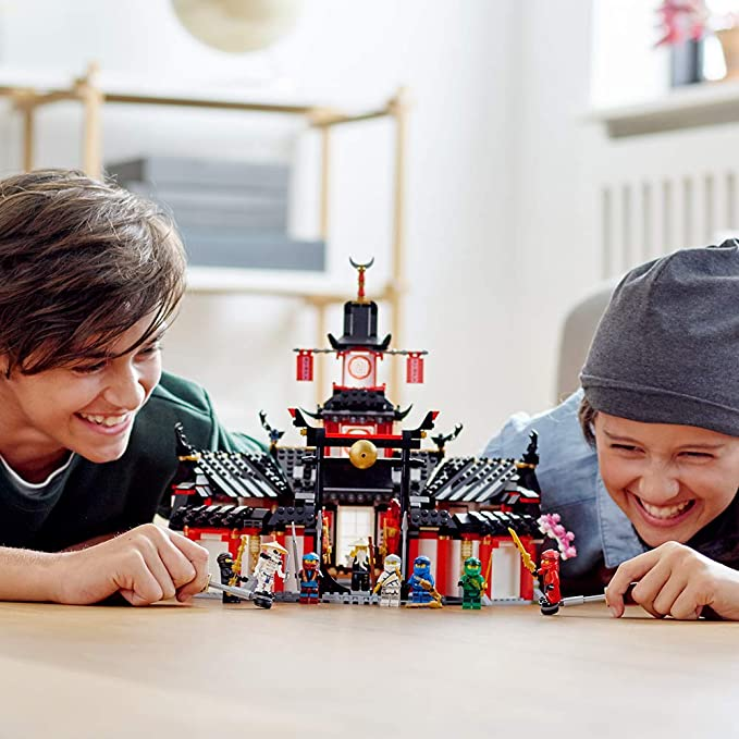 LEGO 乐高 NINJAGO 幻影忍者系列 70670 神秘的幻影旋转术训练馆 积木玩具 8.1折$65 海淘转运到手约¥569