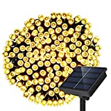 Image of Dolucky Solar String Lights 200 Led String Lighting Outdoor Solar Patio Lights