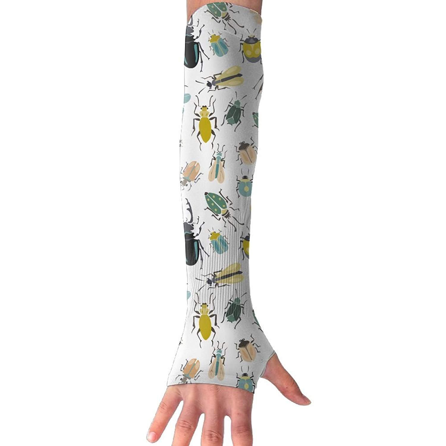 Unisex A Variety of Insect Sense Ice Outdoor Travel Arm Warmer Long Sleeves Glove