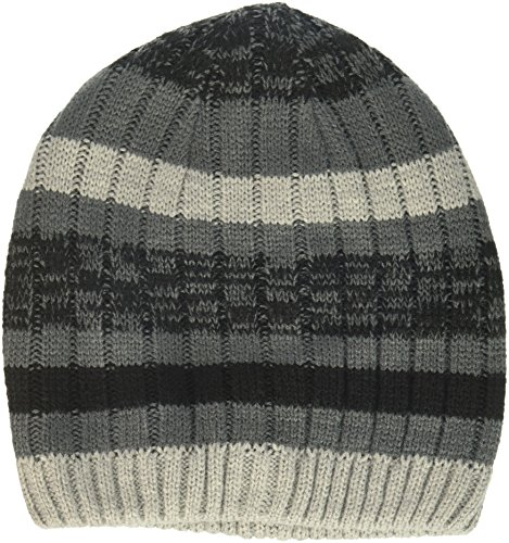 The Children's Place Big Boys' Beanie Hat, Black 89214, S/M(4-7YR) (Boys Beanie)