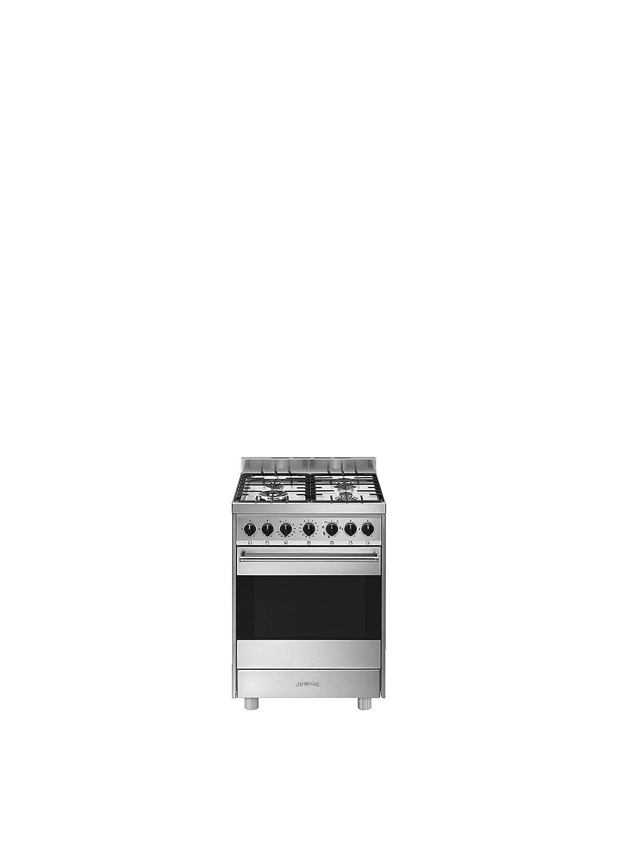 Smeg B61GMXI9 - Cocina (Cocina independiente, Acero inoxidable ...