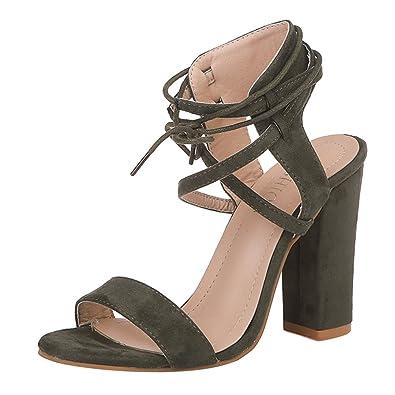 Chaussures à bout ouvert Casual femme Npvej