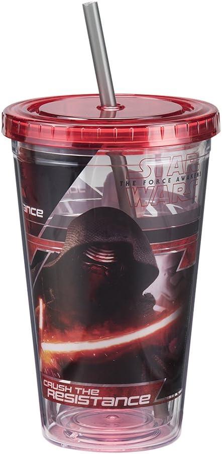Star Wars Episode VII 16 Oz Plastic Travel Mug 99152