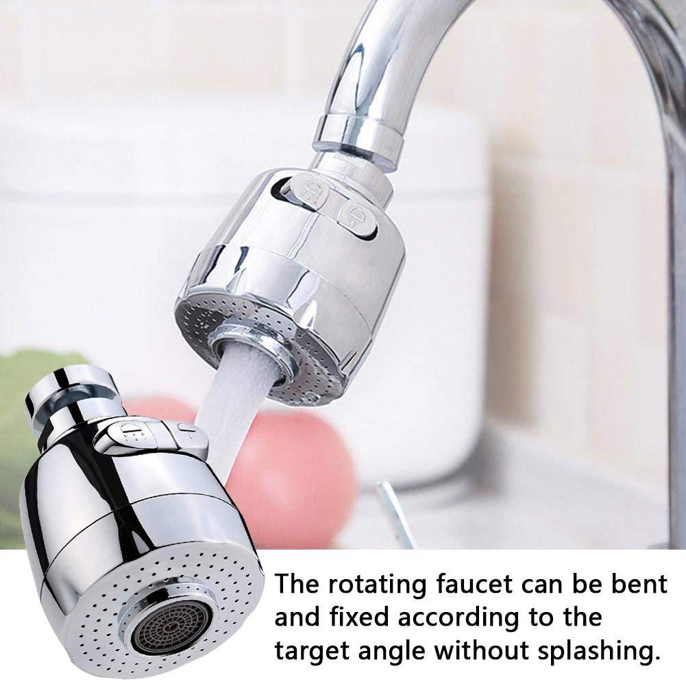 Adecuado para 18-22 mm BETOY Grifo Pulverizador de Tres Engranajes Ajustable Filtro Agua Ahorro Grifo Difusor Accesorios de Cocina Ba/ño 360 /° Giratorio Agua Ahorro Grifo