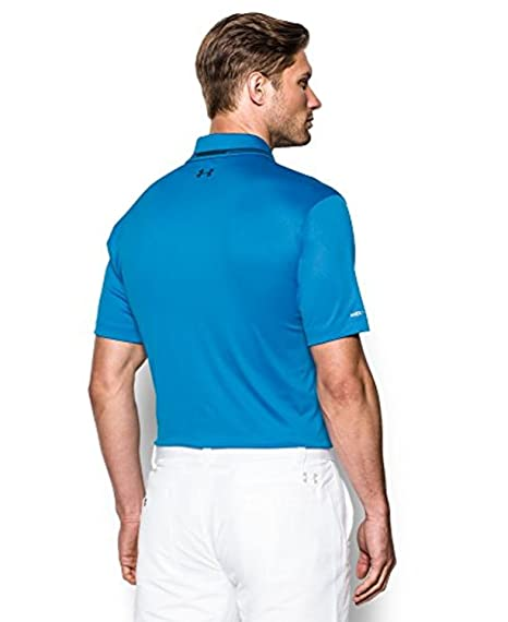 Image Unavailable. Image not available for. Color  Under Armour Mens UA coldblack  Address Polo ... 1b87bbb05aa26
