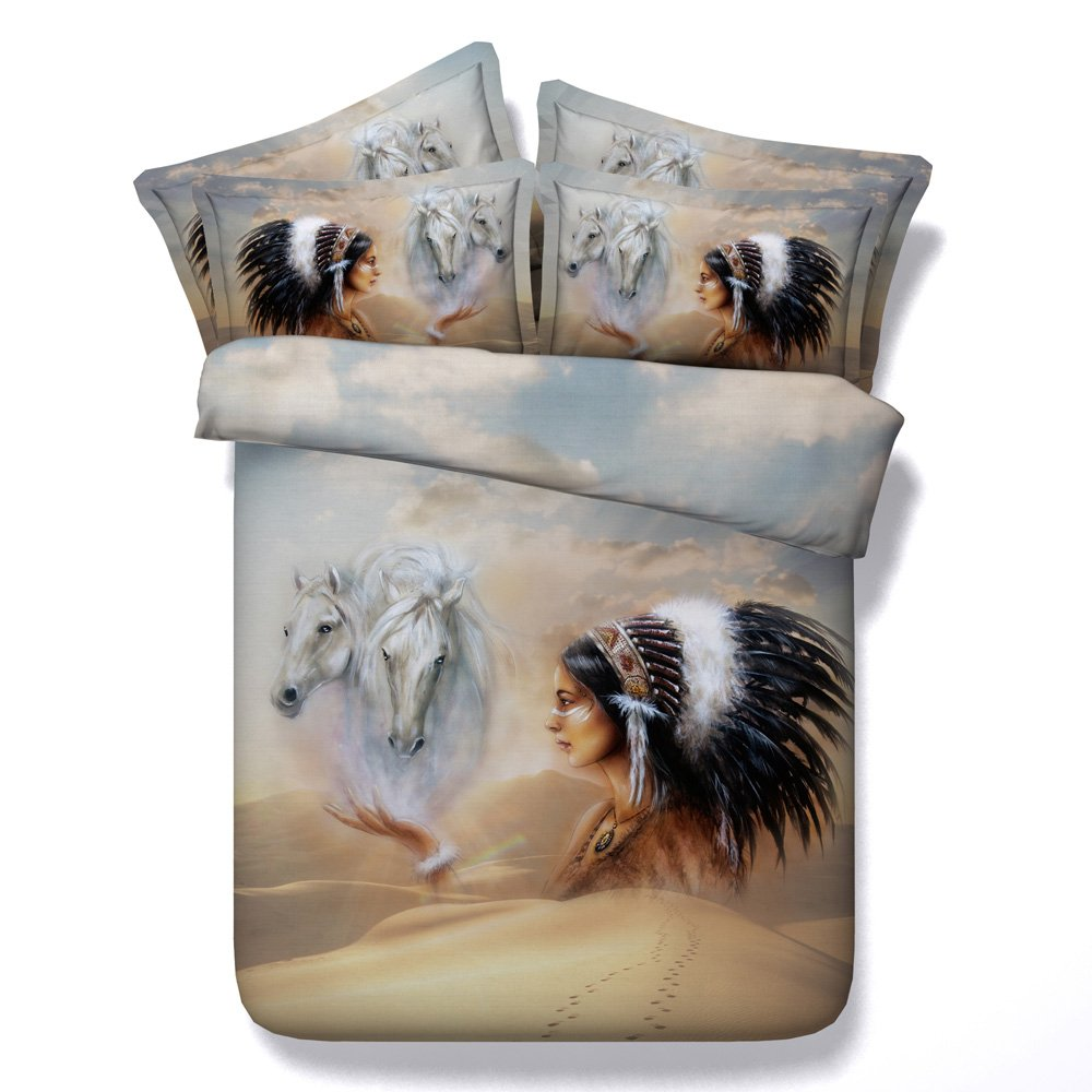 3dプリント布団カバーツインフル/クイーンキングCal Kingサイズ寝具セットCoverlet Bedspreadsベッド用カバー3個入りコットン/ポリエステルホームテキスタイル California King シルバー B078V15Q79  California King