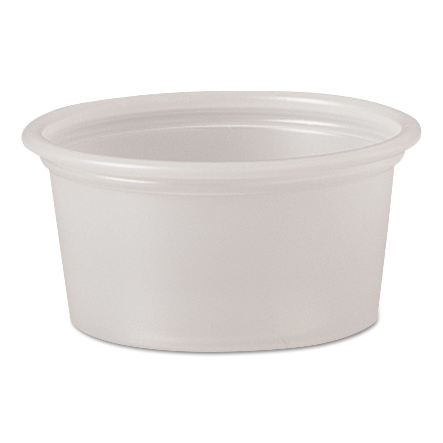 Plastic Souffle Portion Cups 3/4oz Translucent 250/Bag