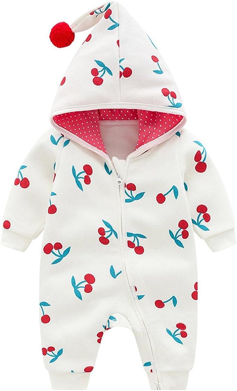 Famuka Baby M/ädchen Kleidung Baumwolle Strampler