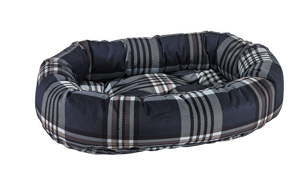 Bowsers Donut Bed, Large, Greystone Tartan