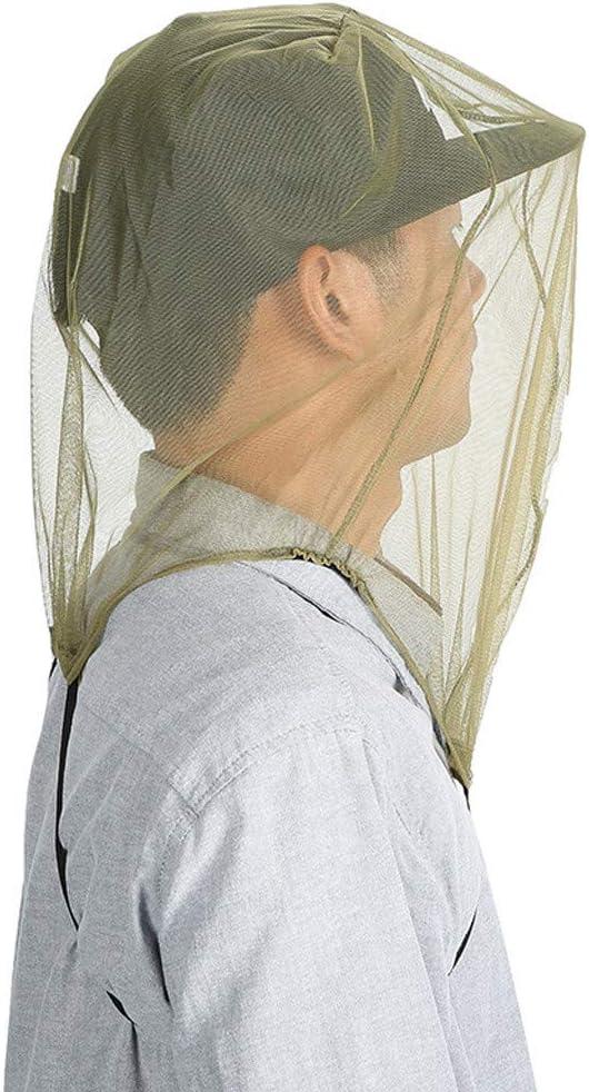fasloyu 3 ST/ÜCKE Outdoor Moskito Kopf Netze Moskito Bienenmaske Gap Gesichtsschutz Outdoor Angelausr/üstung Repellant Kopf Netting Bug Insekt Bienennetz