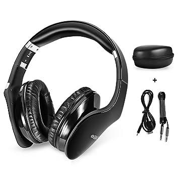 LifePlus Auriculares Cascos Inalámbrico Plegable Tacto Controlado Auriculares con Bluetooth 3.0 + EDR Tecnología Headset Micro
