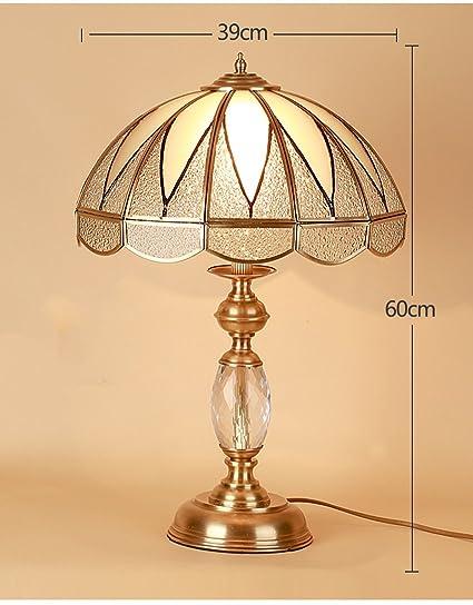 Lámpara de Mesa Lámpara rústica Retro Americana lámpara de ...