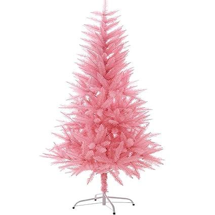 Pink Artificial Christmas Tree.Amazon Com Syaodu Holiday Gift Artificial Christmas Tree