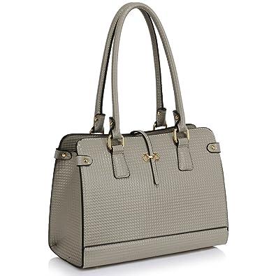 41cb2ee17c61 LEESUN London Womens Designer Handbags Shoulder Bags for Girls Tote Bag