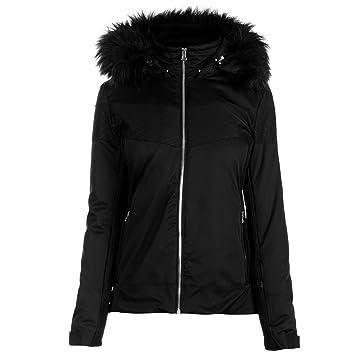 71d245150d Nevica Womens Banff Ski Jacket Coat Top Waterproof Windproof Hooded Zip  Full Fur Black 16 (