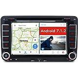 iauch Android 7.1.2Navi 4G GPS DVD für VW Touran Golf 56Passat Polo Tiguan T5