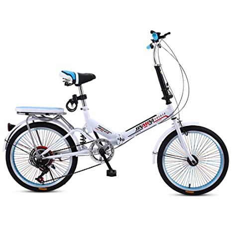 Weiyue Bicicleta Plegable- Bicicleta Plegable for Adultos ...