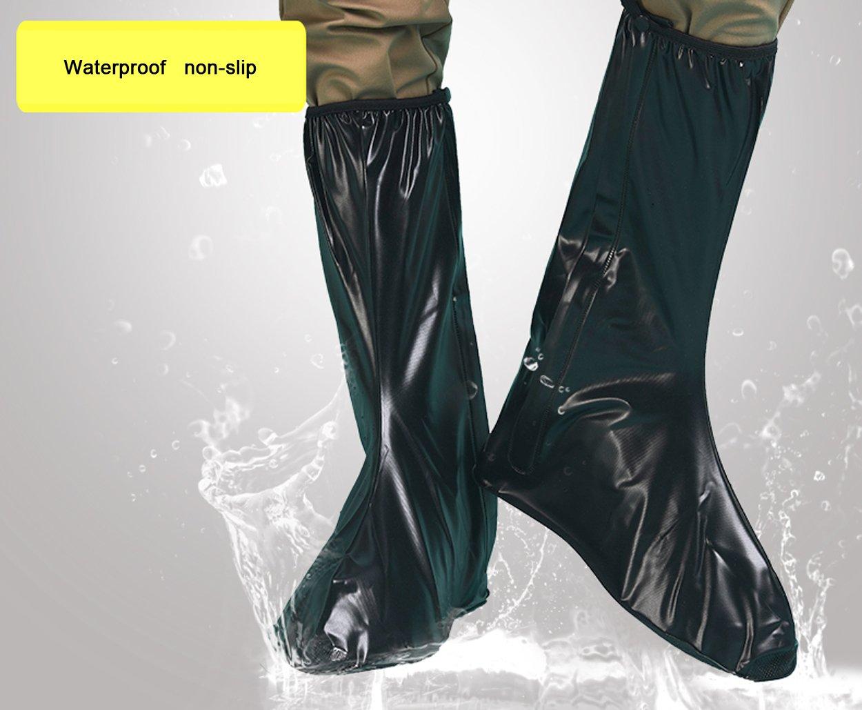 JOYOOO XXL lluvia botas cubre Impermeable y antideslizante Cubierta del zapato para moto cicleta y bicicleta 1x8wcpDqof