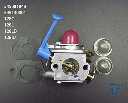 Carburetor For Husqvarna 128C 128L 128LD 128R 128RJ Trimmer Zama W40A Carb