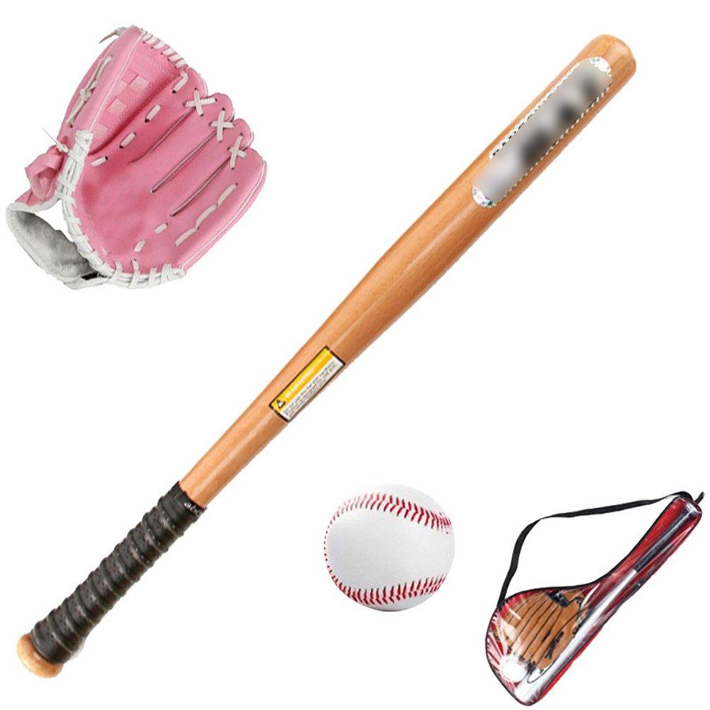 Baseballschl/äger Yiiquan Unisex Kinder Baseball Set Einsteiger Multi-Stil Ball Baseballhandschuh