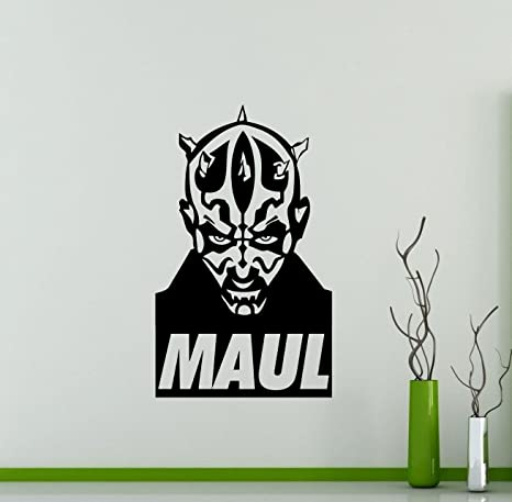 Darth Maul Star Wars Wall Decals Poster Vinyl Sticker Home Teen Characters Devil Sith