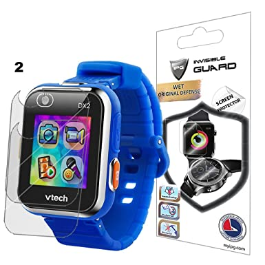 Para Vtech Kidizoom Smartwatch DX2 reloj Protector de pantalla (2 unidades) Invisible Ultra HD