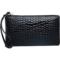 gfjfghfjfh Mode krokodil patroon vrouwen portemonnee portemonnee kaart telefoon houder lederen make-up tas grote…