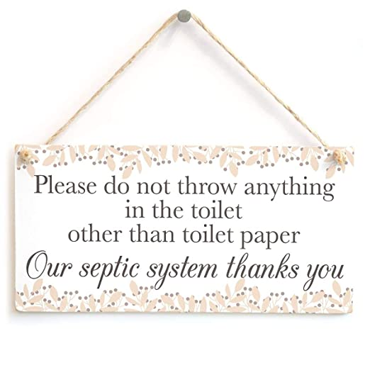 MiMiTee Please do Not Throw Anything in The Toilet Cartel de ...