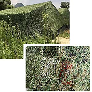 Wilxaw Camouflage Netting, Lightweight Camping Hunting Shade Cover for Sunshade Decoration, Mountain Jungle Bird Watching