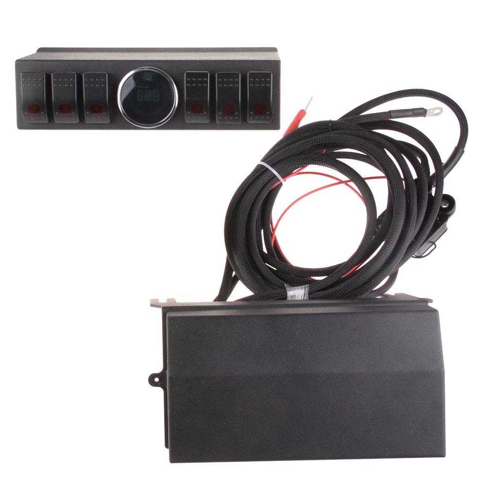 61JTznks4OL._SL1005_ amazon com mingli 6 contura switch 6 switch wiring kit switch Car Fuse Box Wiring at bayanpartner.co