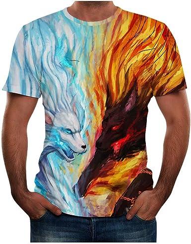 Sylar Camiseta Estampada 3D para Hombre Camiseta de Manga Corta Verano Casual Camisetas Cuello Redondo Slim fit Tops Camiseta Stranger Things T-Shirt: Amazon.es: Ropa y accesorios