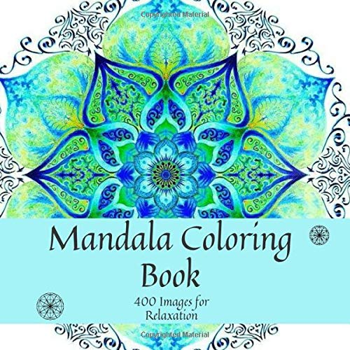 Mandala Coloring Book Images Relaxation product image