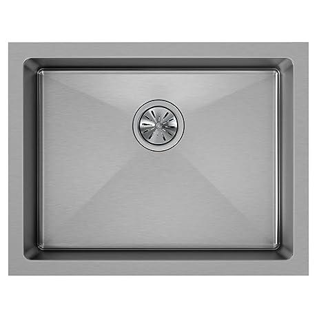 Elkay Crosstown EFRU2115 Single Bowl Undermount Stainless Steel Sink