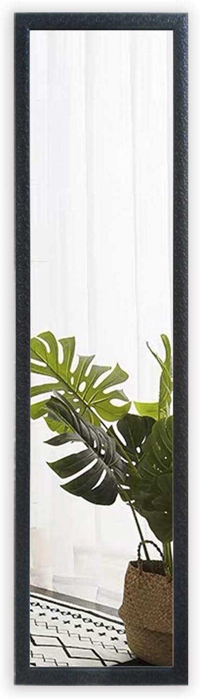 FANYUSHOW Full Length Wall Mirror/Door Mirror/ Rectangle Dressing Mirror, Bedroom Mirror for Home Decoration ,Black