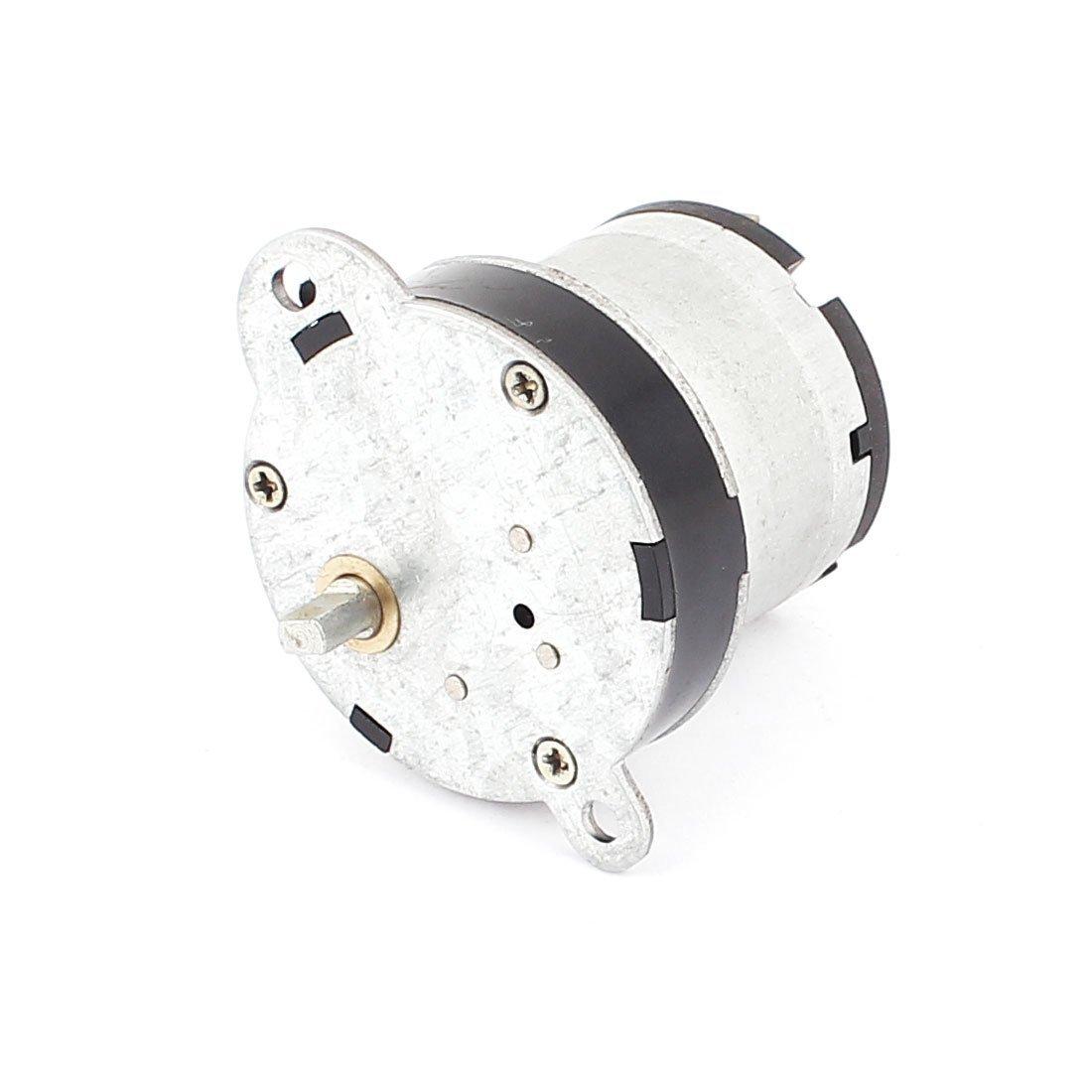 DealMux DC 24V 45RPM 5 milímetros Shaft Dia Gear Box velocidade Reduzir motor elétrico - - Amazon.com