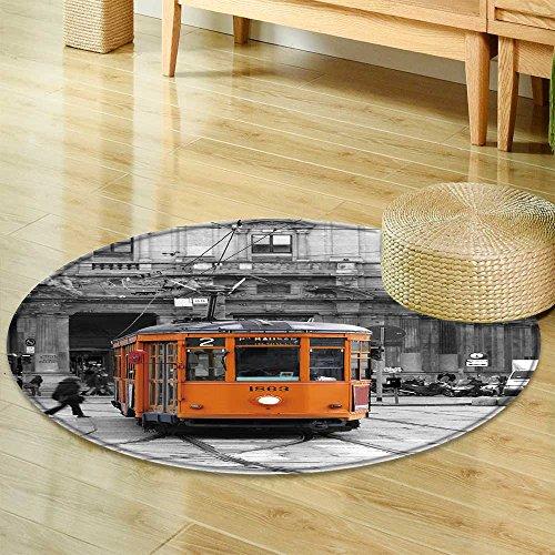 "Price comparison product image Dining Room Home Bedroom Carpet Floor Mattram Non Slip Rug-Round 39"""