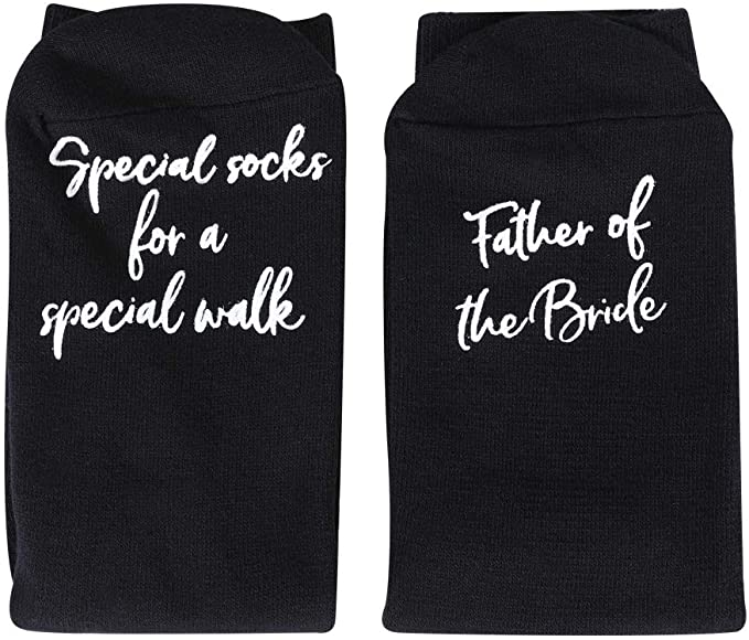 Father Of The Bride Personalized Gift Socks