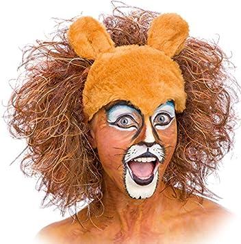 León de la peluca para adultos de peluche Safari Tiger: Amazon.es: Juguetes y juegos