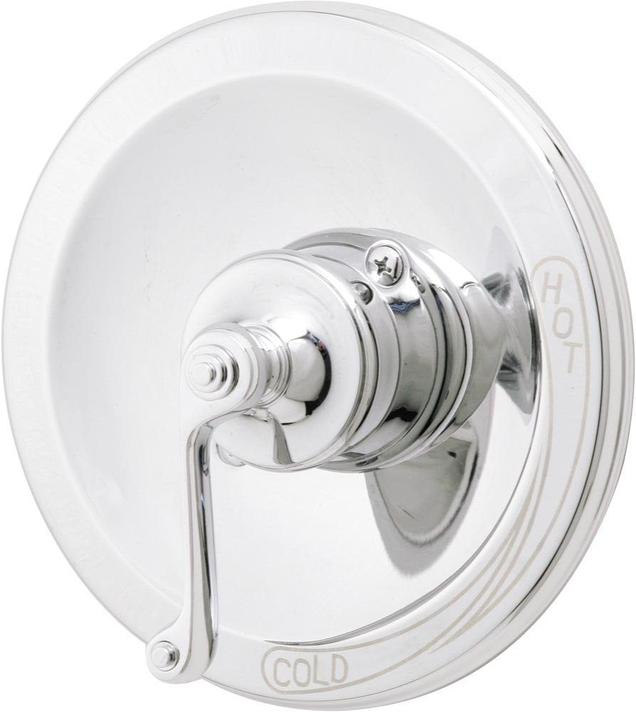 Satin Nickel Rohl A1411LMSTN A1411Lm Country Bath Pair of 1//2 Sidevalves Only with Metal Lever Handles