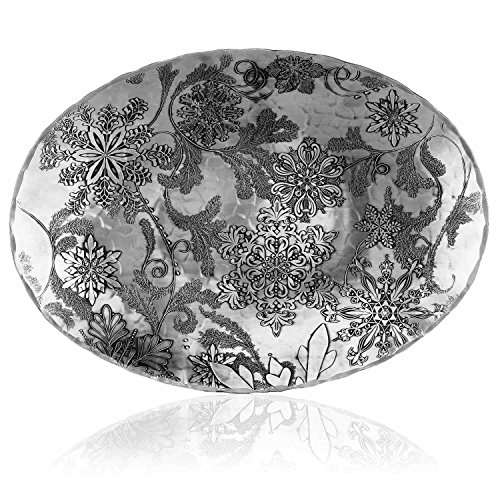 Wendell August Winter Song Oval Dish, Small