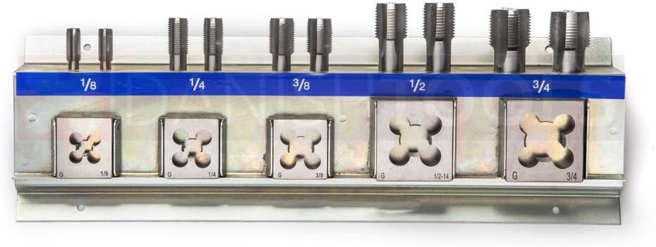 M2-M5 Set de tarauds et fili/ères HSS