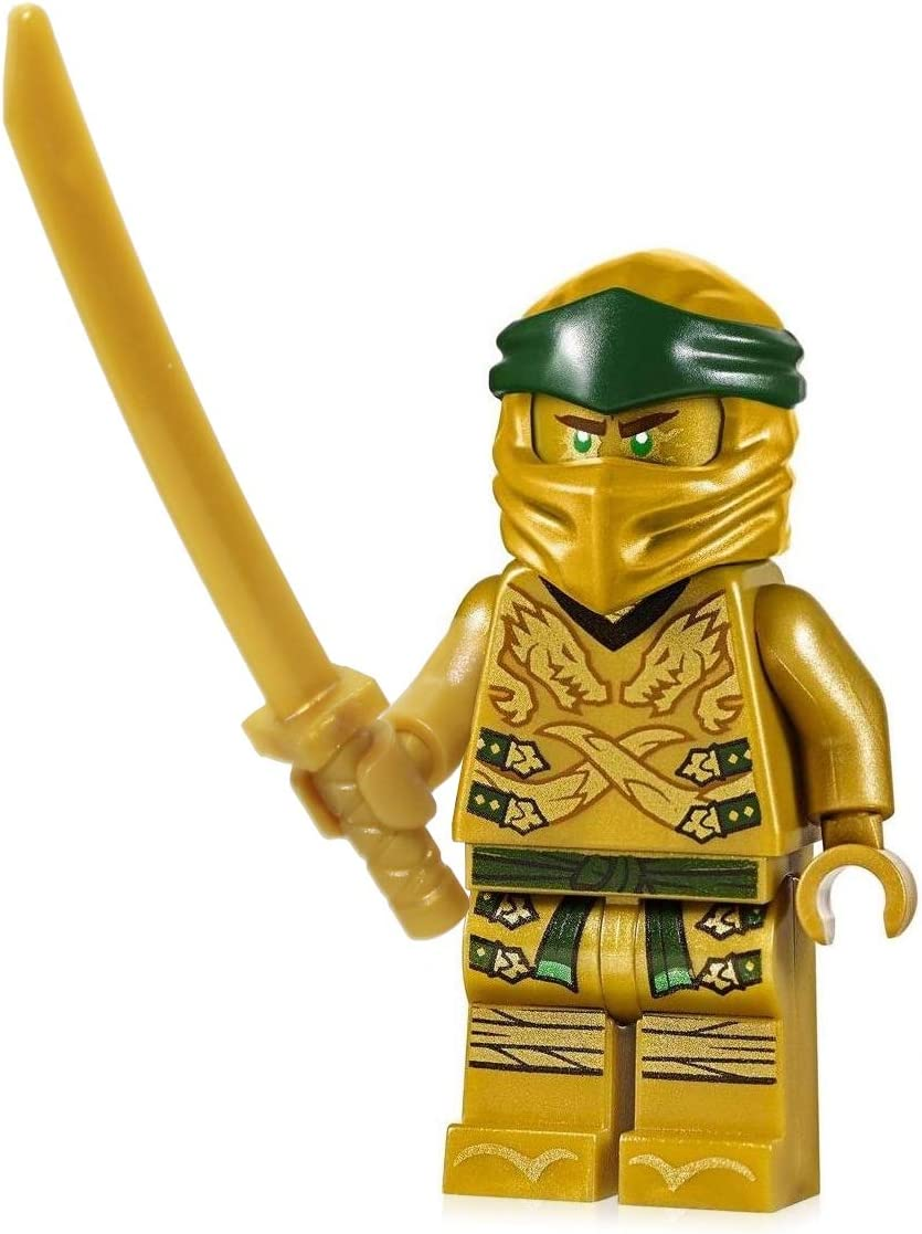 LEGO Ninjago Minifigure - Lloyd Garmadon Legacy (Gold Ninja with Sword)