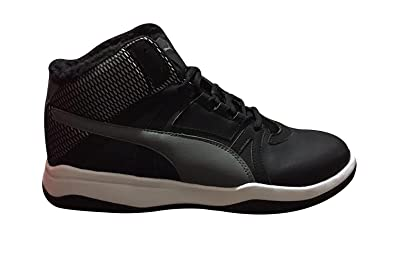 0a27406bdab Image Unavailable. Image not available for. Color  PUMA Rebound Street Evo  Fur Black Quiet ...