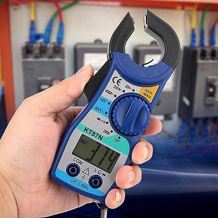 KT87N 600V//450V DC//AC Digital Clamp Meter 20-400A Amperometro Multimetro Digitale con Display LCD Pangding Clamp Meter