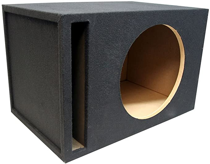 How To Build A Sub Box >> Amazon Com Asc Single 18 Subwoofer 1 Mdf Universal Fit Vented
