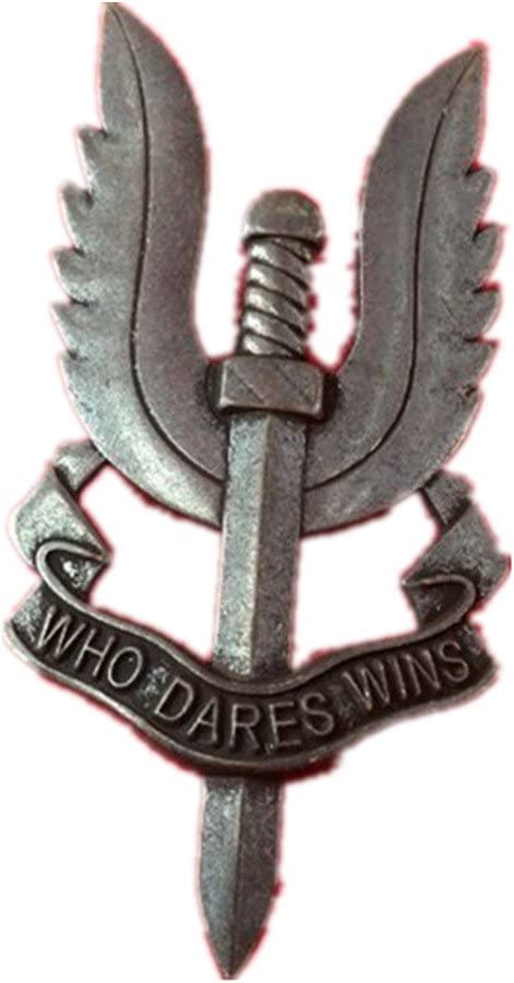 gudeke Vintage SAS Who Dares Pin UK Gap Badge