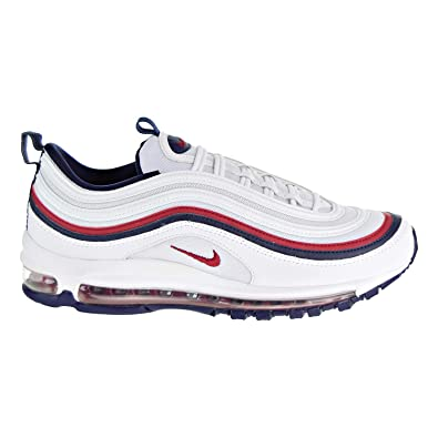 Nike Air Max 97 Women's Shoes WhiteRed CrushBlackened Blue